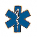 Star of Life Pin